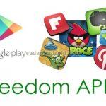cara cheat game android dengan freedom