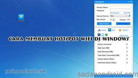 Membuat hotspot di pc windows 7
