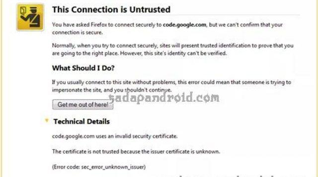 Cara Mengatasi Tidak Bisa Membuka HTTPS Di Google Chrome dan Mozilla