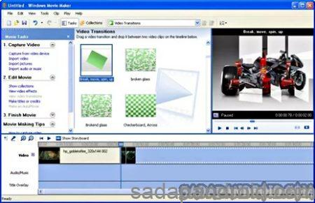 aplikasi edit video di windows 7