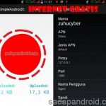 cara setting simple server apk di android