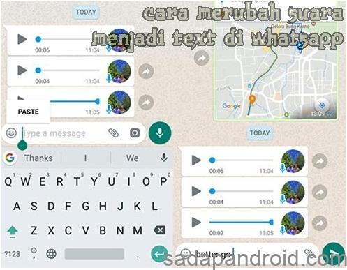 Cara Merubah Pesan Suara Menjadi Teks Di Whatsapp