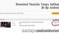 cara download youtube di hp android tanpa aplikasi