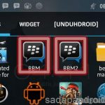 Cara Menggunakan 2 BBM di 1 Hp Android Semua Merk Hp