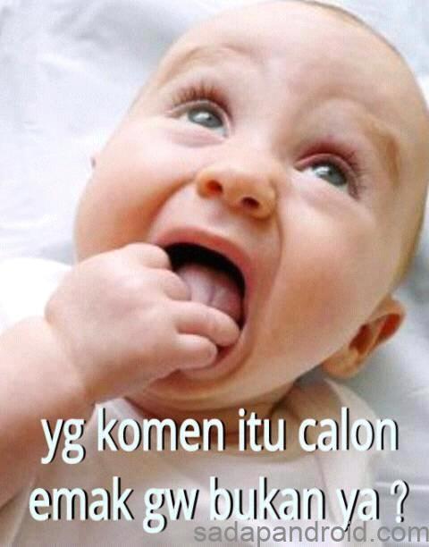 50+ Kumpuan Gambar DP BBM Bayi Lucu Bikin Ngakak | Sadap Android