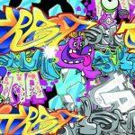 Kumpulan Gambar Grafiti Tulisan Huruf Nama Keren Terbaru dan Mudah