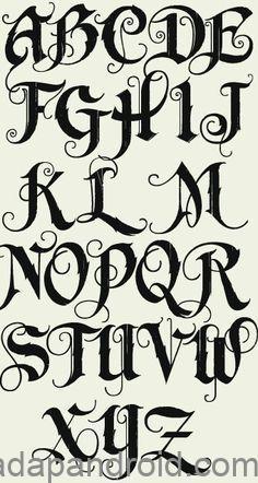 A154a63af9591d7fbc18fce21bff11d2 Alphabet Graffiti Alphabet Fonts