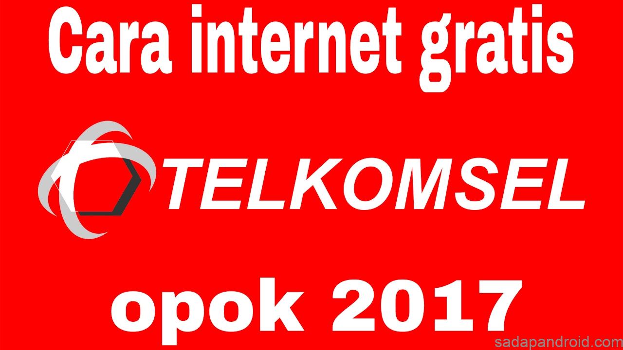 cara internet gratis telkomsel tanpa kuota