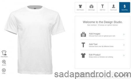 cara membuat desain kaos online
