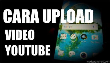 cara upload video ke youtube di hp android