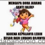 10 Meme Gambar Dora The Explorer Lucu Ngakak Terbaru