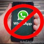 cara mengatasi whatsapp yang di blokir di android