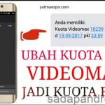 Trik Dan Cara Mengubah Kuota VideoMax Menjadi Kuota Flash Terbaru 2018