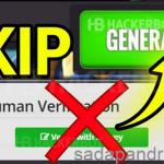 Cara Melewati Human Verification Di Android Saat Hack Generator Online