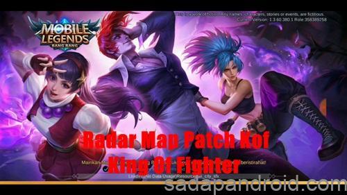 Radar Map Hack Patch Kof ( King Of Fighter ) Mobile Legends Terbaru