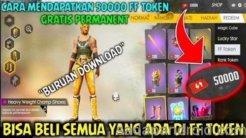 Script 50000 FF Token Free Fire Permanen sadapandroid.com