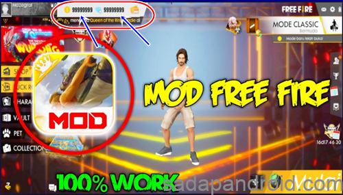 Download Free Fire Mod Apk Tanpa Root Terbaru Full Diamonds