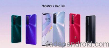 Spesifikasi dan Harga Huawei Nova 7 Pro