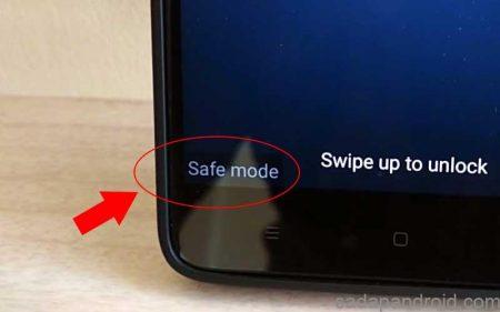 cara masuk safe mode