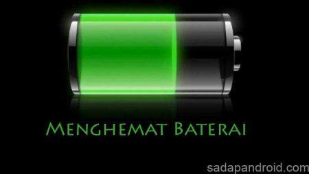 menghemat baterai