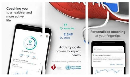 Aplikasi Google Fit