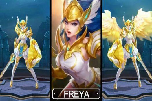GG Menggunakan Hero Freya Mobile Legends Revamp
