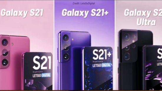 Samsung Galaxy S21: Tampilan