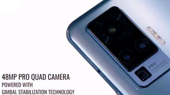 Kamera vivo x50