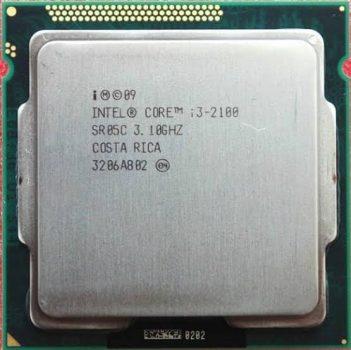 Prosesor Corei3-2100 Rakit PC Gaming